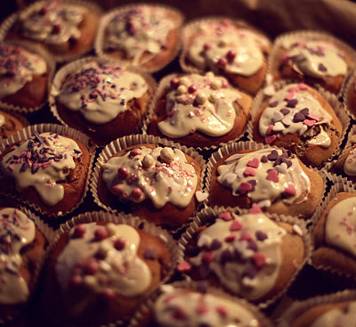 Lebkuchen Muffins.