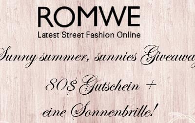 ROMWE Gewinnspiel – sunny summer
