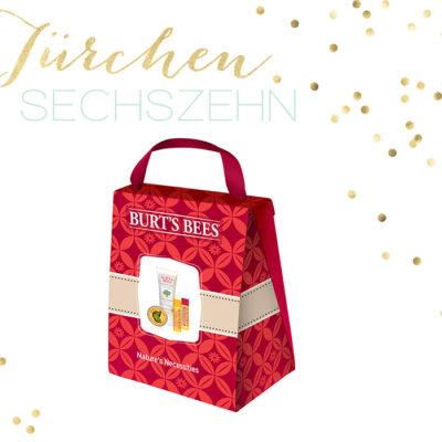 Adventskalender 2013 – Türchen 16 – Burt's Bees Nature's Necessities Set