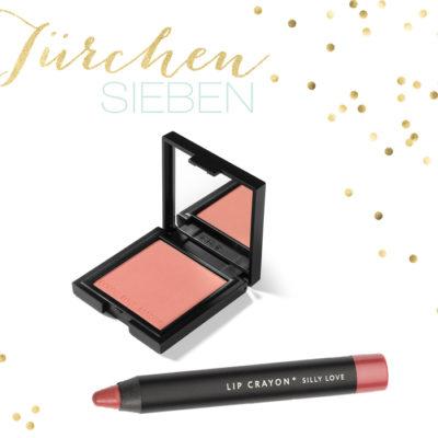 Adventskalender 2013 – Türchen 7 – Zoeva Luxe Color Blush & Lip Crayon