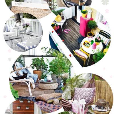 Ideen für einen wunderschönen Balkon!