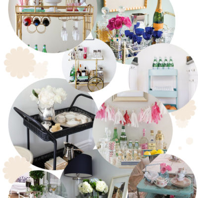 Interior: bar cart love & unser neues Heim