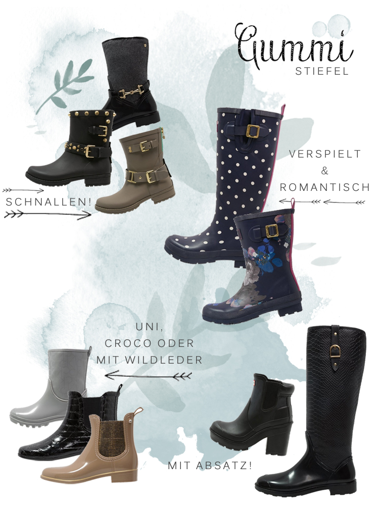 new style 0b7ad 27d4c Plitsch Platsch: Gummistiefel mal stylisch! • Always like a ...