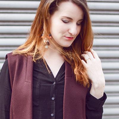 Outfit: Lange Zara Weste + Jogginghose