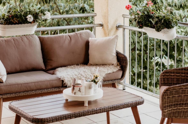 DIY Windlicht & unsere gemütliche Lounge auf dem Balkon • Always ...