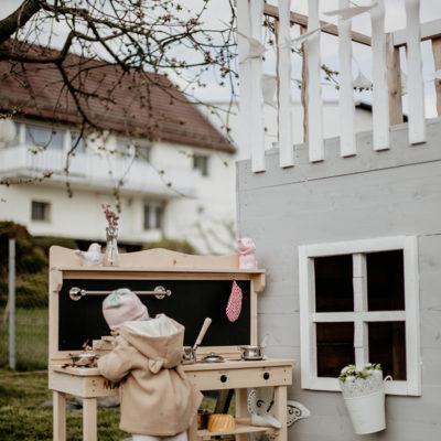 Gartenspaß – Die Matschküche als Highlight im Garten