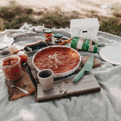 Leckere Rezepte für ein herbstliches Picknick – Kürbis Tarte & Kürbis-Bulgur-Salat