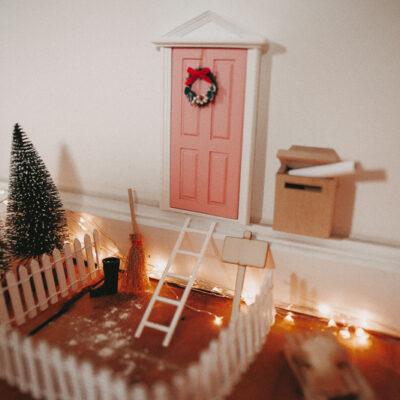 Die Wichteltür- Unser Weihnachtswichtel zieht ein